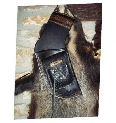 carquois chasse cuir