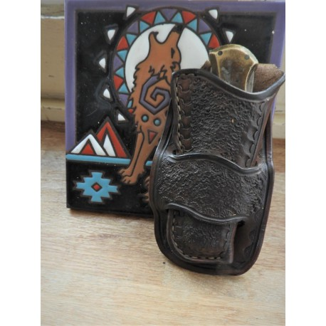 etui couteau style holster
